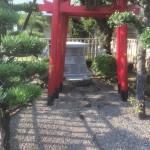 姫路市の某企業様のお社台石とおきつね様を建てさせて頂きました