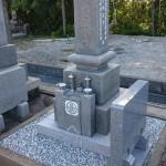 兵庫県加古川市でお墓の傾きを直させて頂きました