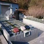 宍粟市山崎町上寺で永代供養墓を建立しました