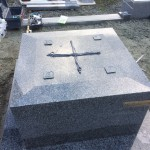 佐用町で耐震施工標準装備のお墓を建てさせて頂きました