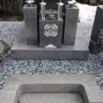 宍粟市山崎町で玉砂利レジン仕上げをさせて頂きました